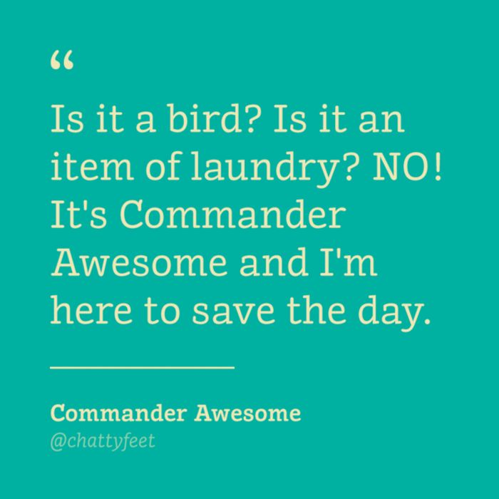 Kindersokken Commander Awesome Jr.