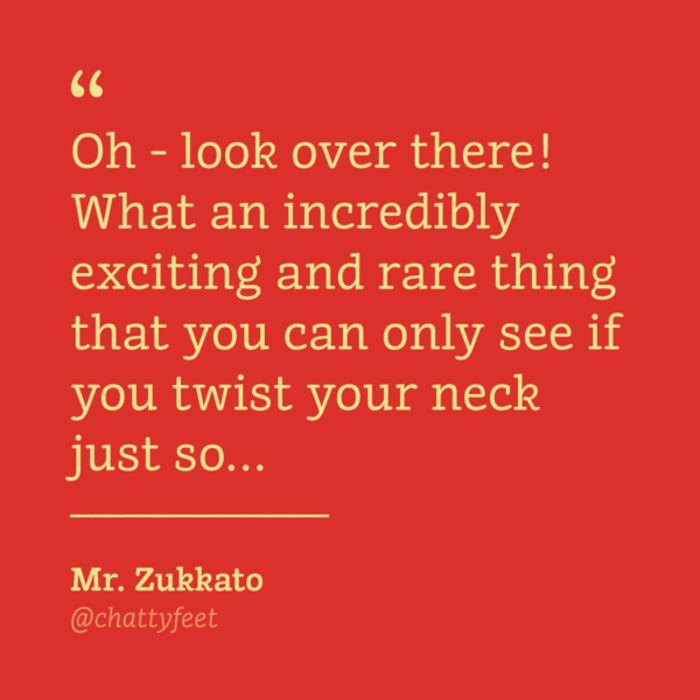 ChattyFeet Mr. Zukkato Jr.