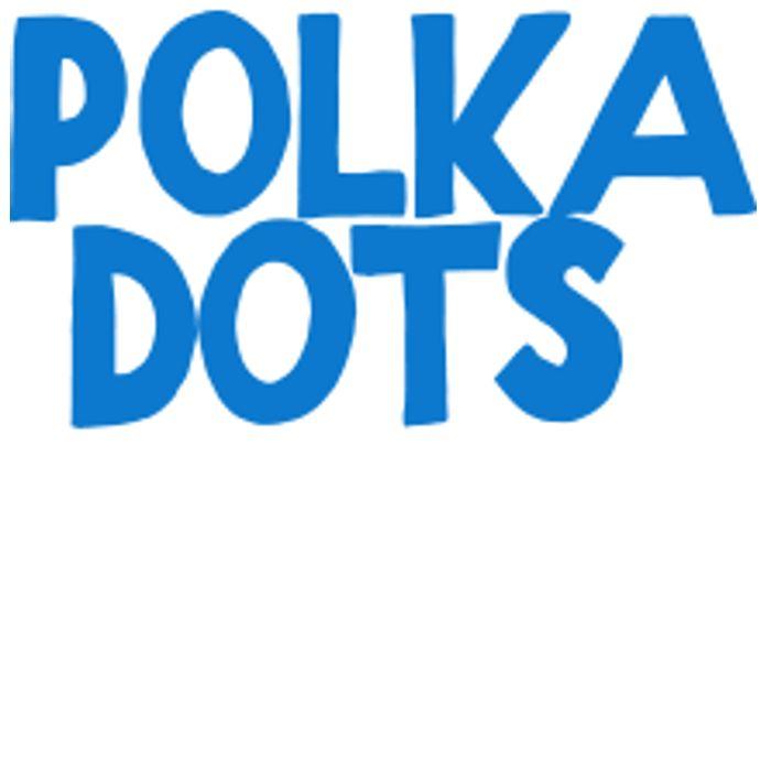 Polka Dots Blue/Navy