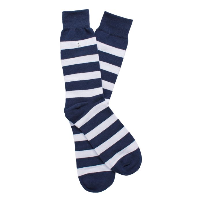 The Stripes Blue & White