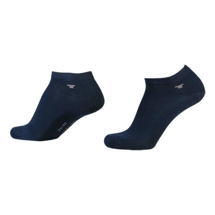 2-pack donkerblauwe sneakersokken