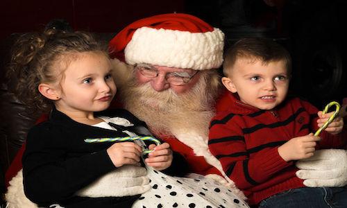 Kerstman in kerstsokken verhaal
