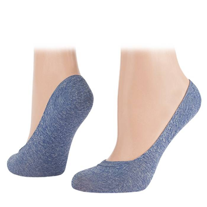 In-Shoes ballerina denim 2-pack SPECIAL TECH