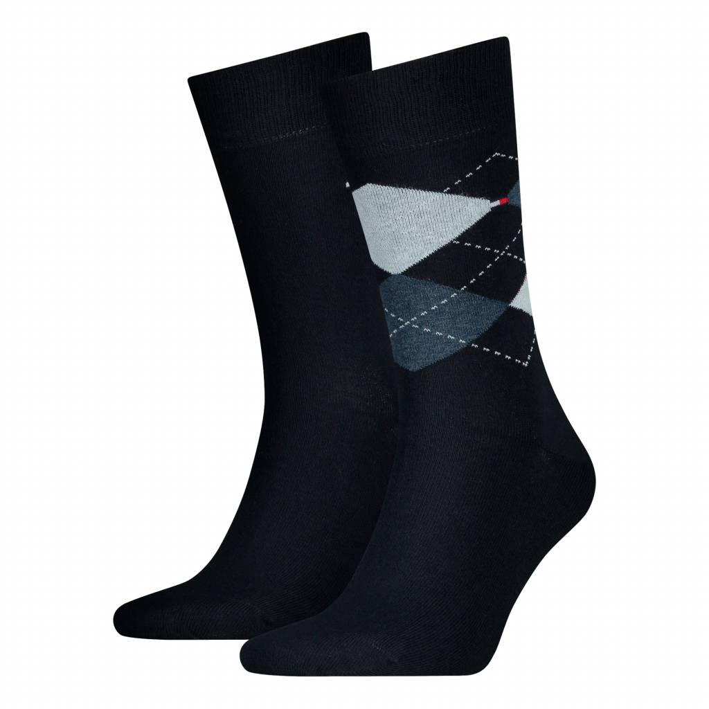 2-pack Check navy