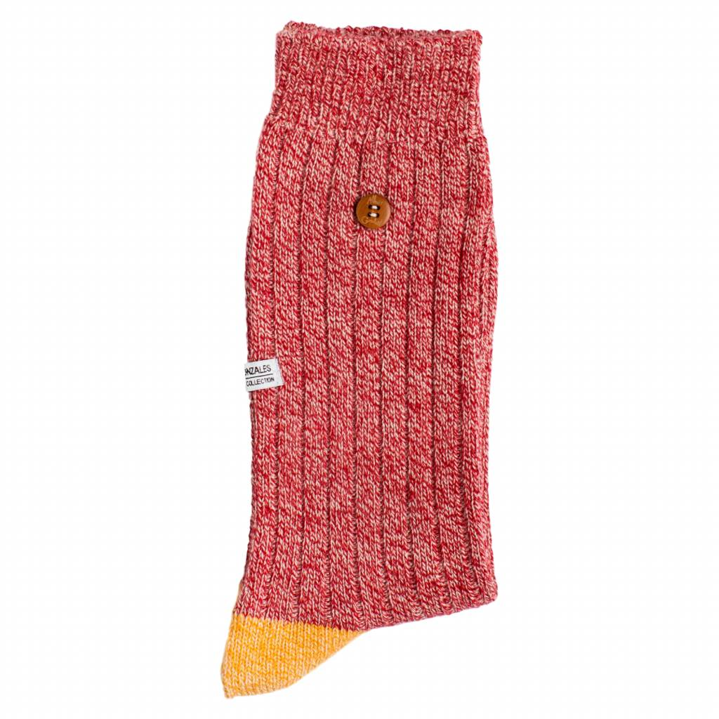 Twisted Wool Red/Yellow