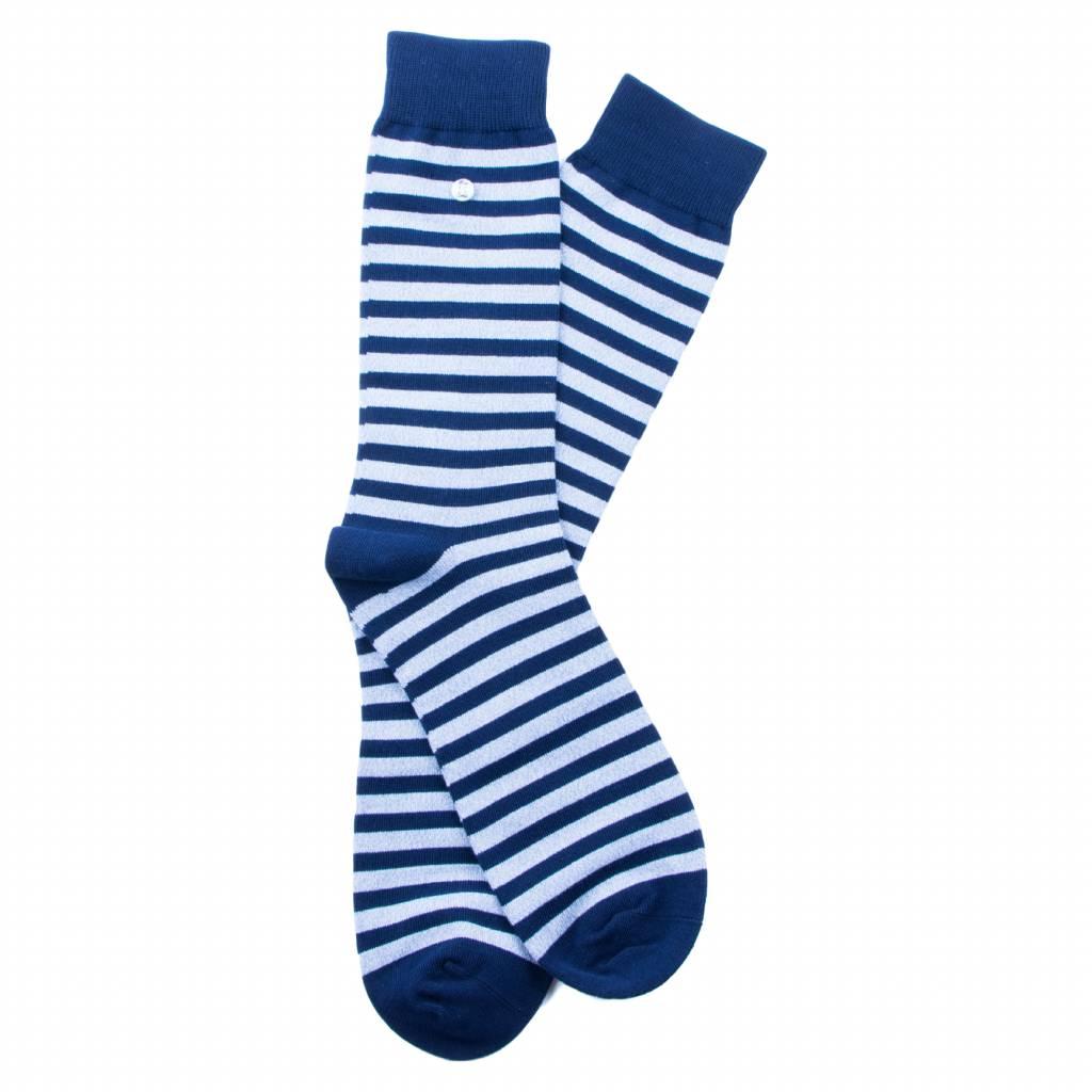 Alfredo Gonzales Stripes Blue Melee/Navy