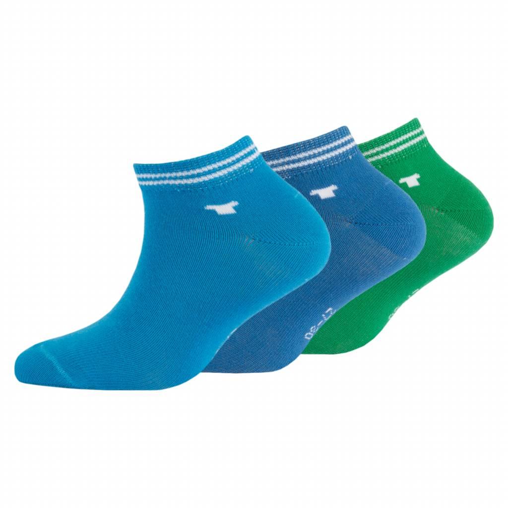 Sneaker gekleurd Blauw 3-pack