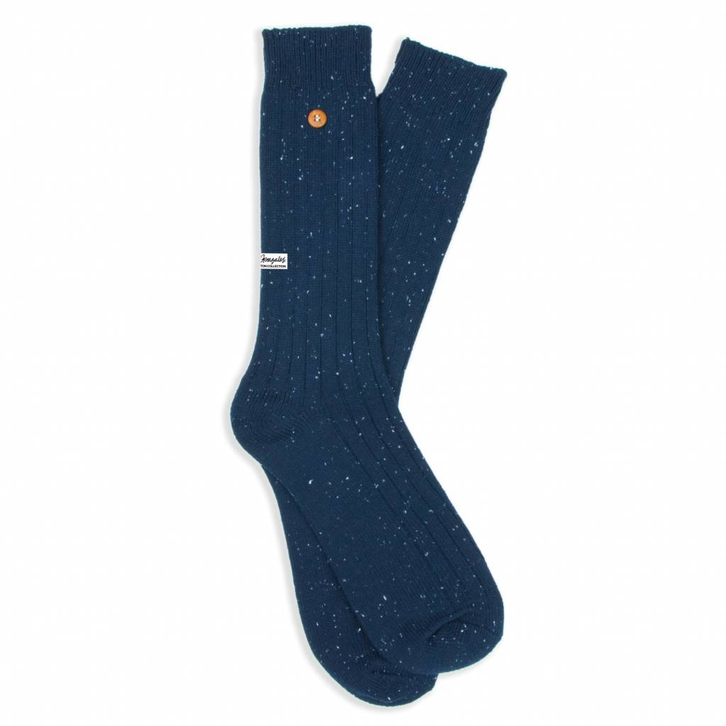 Speckled Cotton Navy