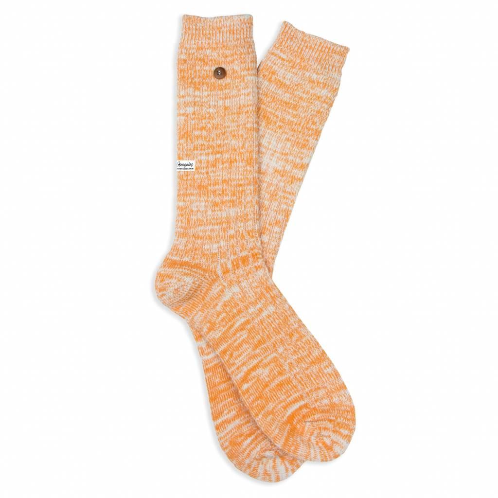 Twisted Wool Plain Orange