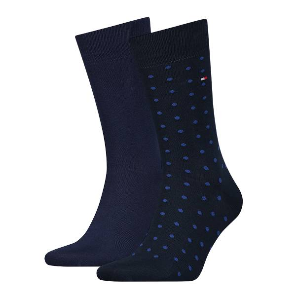 2-pack Dotted Navy