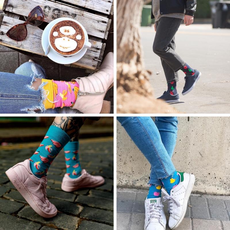 Fruitige sokken