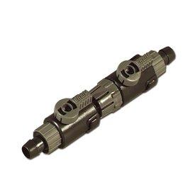 Eheim Doppelhahn-Schnelltrennkupplung zu Schlauch 12/16mm