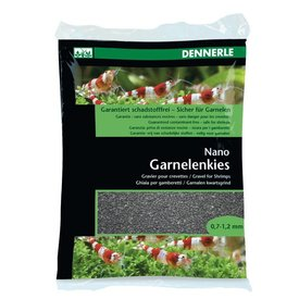 Dennerle Nano Garnelenkies - sulawesi schwarz, 2kg