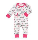 Fresk Pyjama bébé éléphant rose