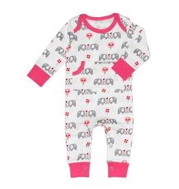 Fresk Babypyjama Olifant roze