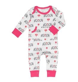 Fresk Pyjama baby elephant pink