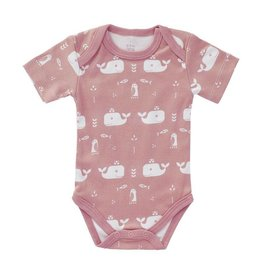 Fresk Romper Whale mellow rose