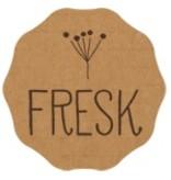 Fresk Cotton sleeping bag Whale mellow rose