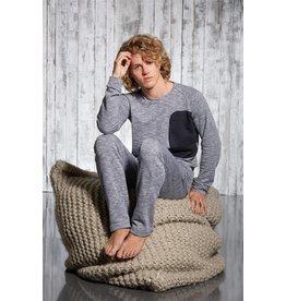 NightLife by Eskimo Nightlife pyjama Greyed out S-XL