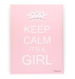 Childwood Peinture Keep Calm it's a Girl