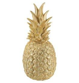 Goodnight Light Goudkleurige ananas lamp