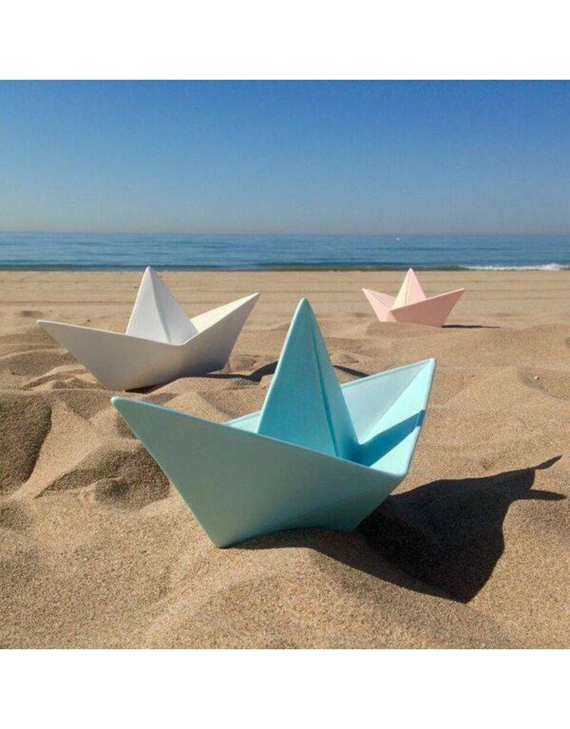 Goodnight Light Origami boot nachtlampje roze