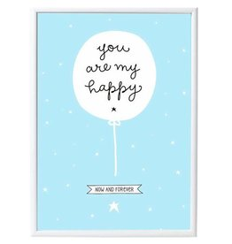A Little Lovely Company Poster You are my happy