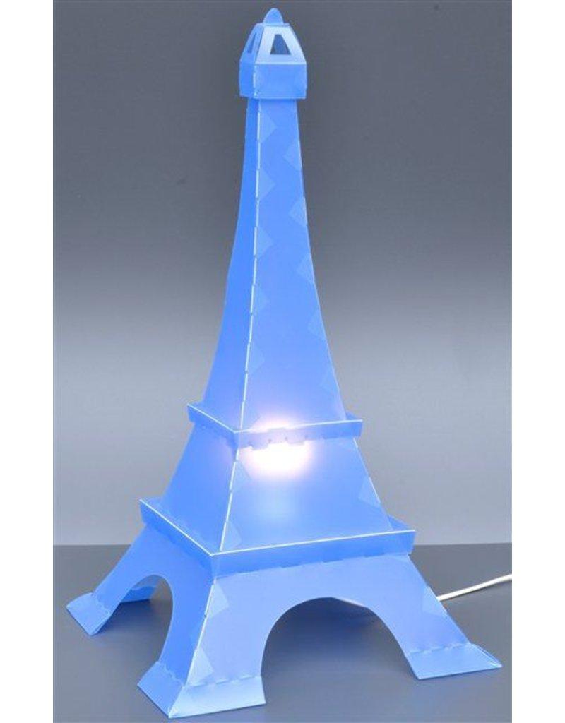 R&M Coudert Lampe de décoration Tour Eiffel - bleu