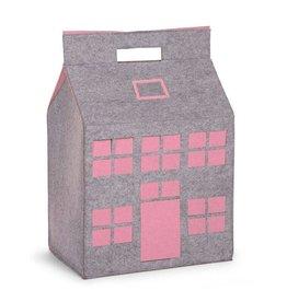 Childwood Maison de rangement gris - rose