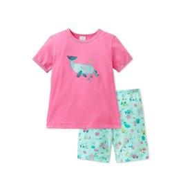Schiesser Pyjama fille Baleine 2-8 ans