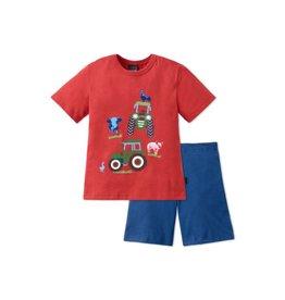 Schiesser Pyjama garçon Tracteur 2-8 ans