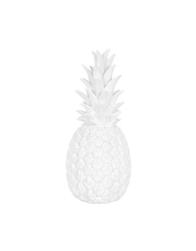 Goodnight Light Lampe ananas en blanc