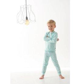 Little Label Pajamas in mint green by Little Label