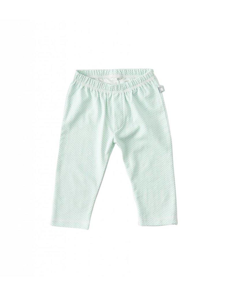 Little Label Baby pants in mint by Little Label