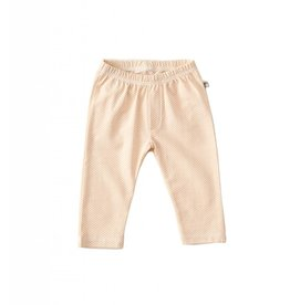 Little Label Baby pants in salmon pink by Little Label
