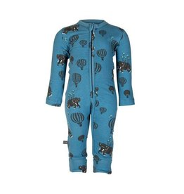 nOeser Pyjama bébé 'Airballoon' en couleur blue pétrole