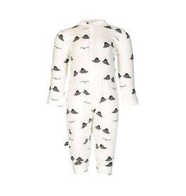 nOeser Pyjama bébé 'Wings' en Blanc