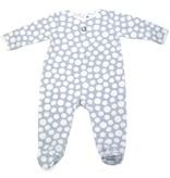 Dimpel Zachtblauwe babypyjama