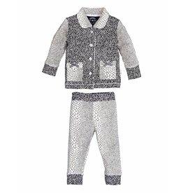 Claesen's Pyjama fille bébé Snake Blocks