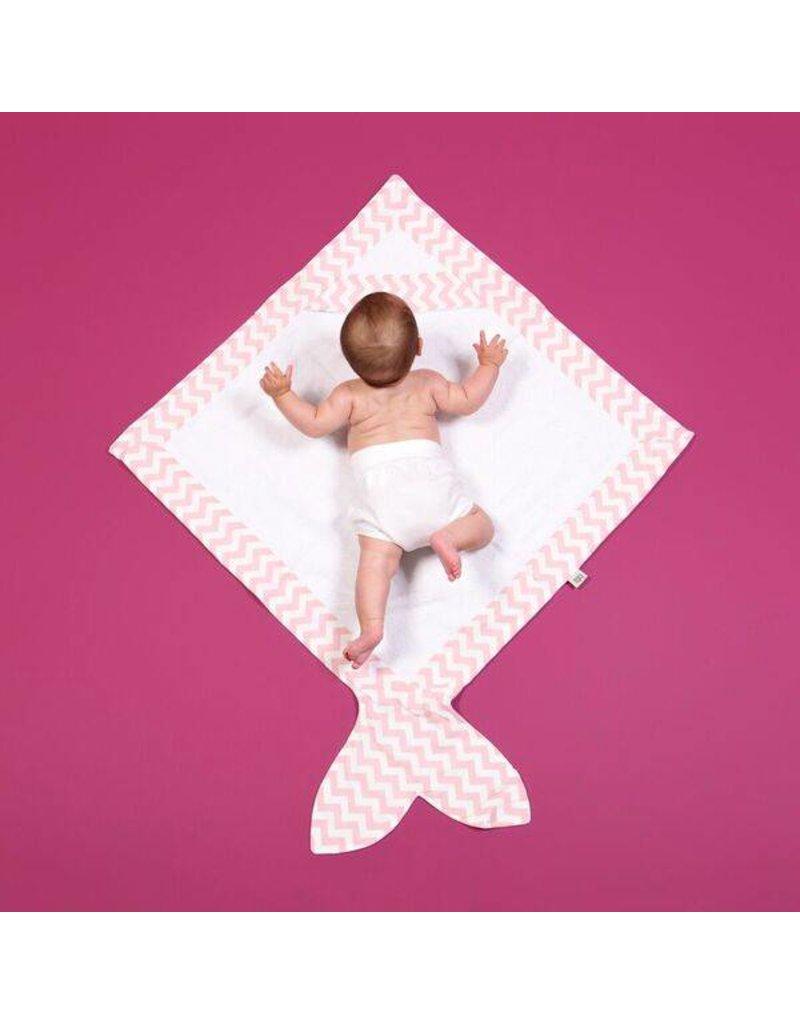 Baby Bites Cape de bain en rose