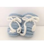 Oma Meijel Breit Chaussons bébé tricotés à la main