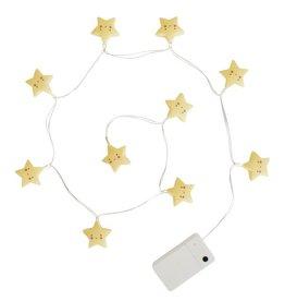 A Little Lovely Company Guirlande lumineuse étoiles jaunes