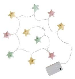 A Little Lovely Company Guirlande étoiles pastel