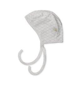 Cam Cam Copenhagen Baby bonnet in soft grey