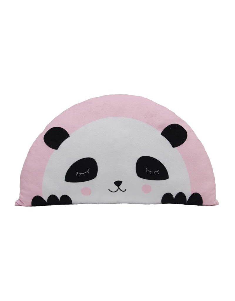 Kids Boetiek Coussin Panda en rose