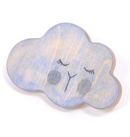 Loullou 1st Play wall hook - Cloud