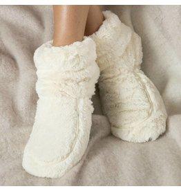 Warmies Warmies Boots Cream