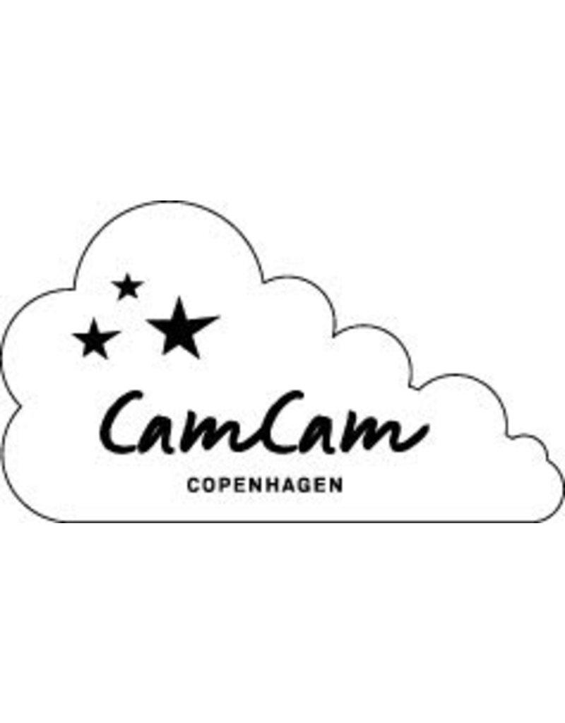 Cam Cam Copenhagen Hooded towel in soft grey