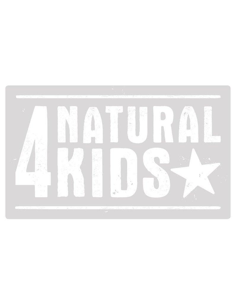 4NaturalKids Extra grote badcape uit biologisch badstof