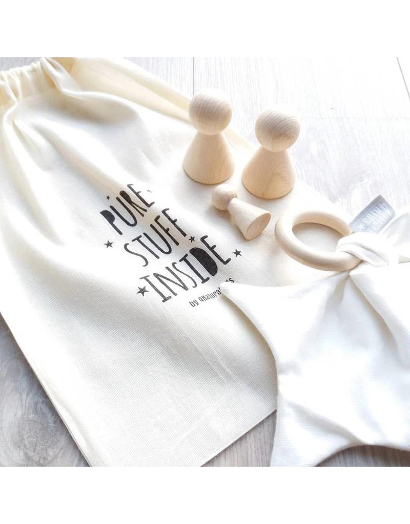 4NaturalKids Oversized hooded towel from organic cotton